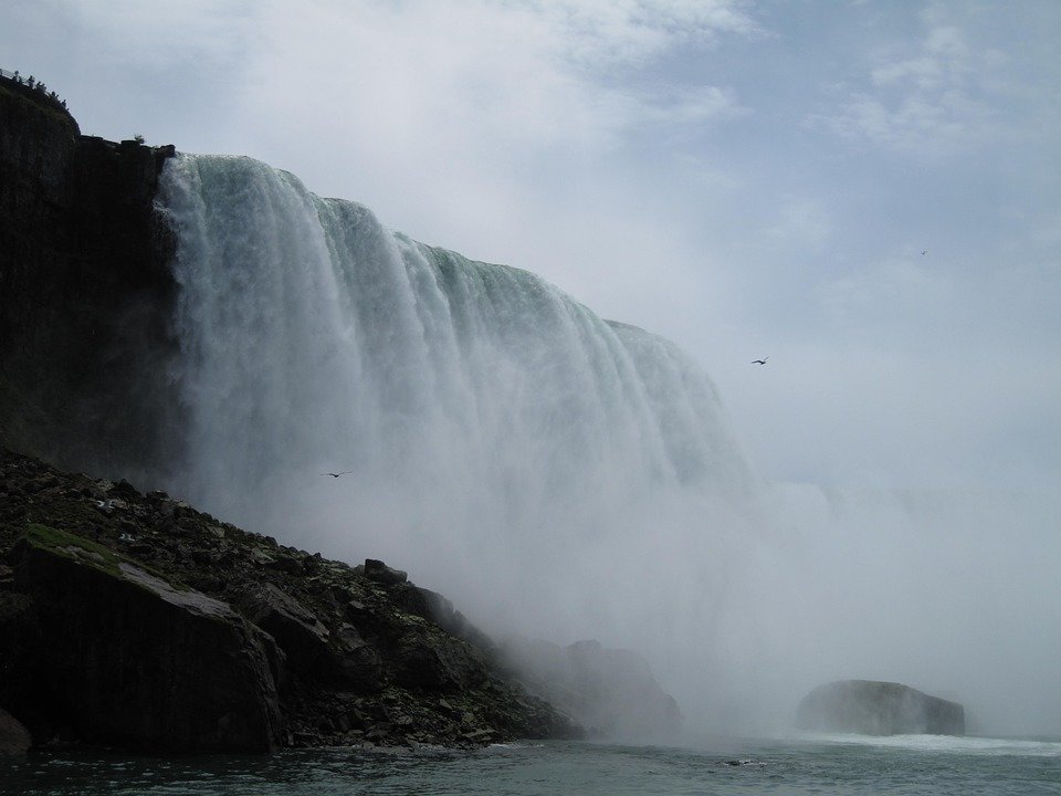 Niagarskij vodopad - udivitel