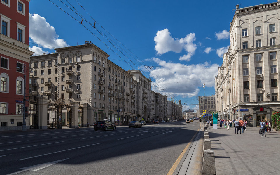 tverskaja ulica Moskva