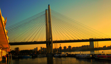 Bol shoj obuhovskij most v sankt peterburge