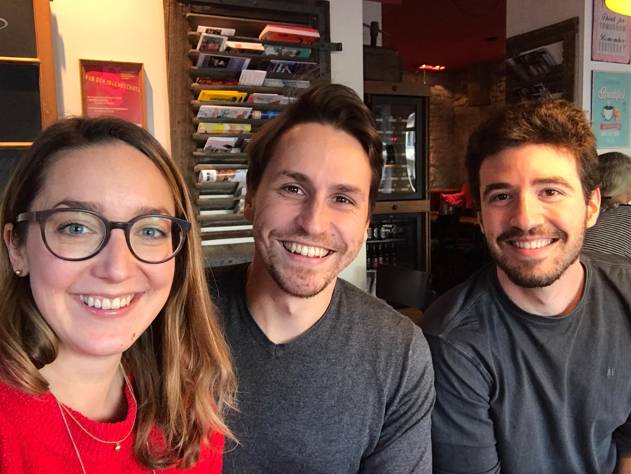Melanie Kovacs, Rodrigo Hänggi & Daniel Puglisi