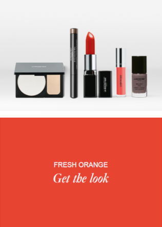 Friseur-Ahlen-La-Biosthetique-Make-up-Collection-Spring-Summer-2019-Fresh-Orange