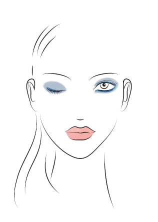 Friseur-Vilsheim-La-Biosthetique-Make-up-Collection-Spring-Summer-2019-Modern-Blue