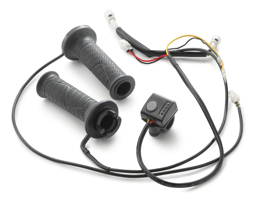 Heated grip kit