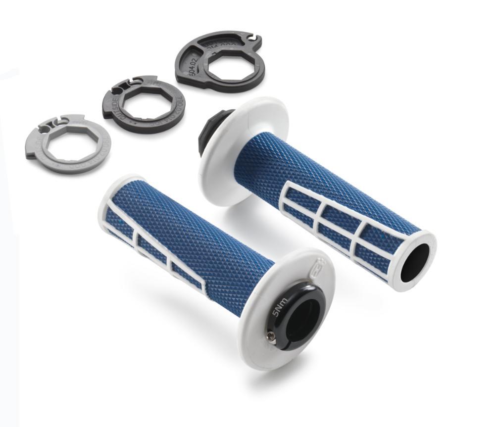 Lock-on grip set