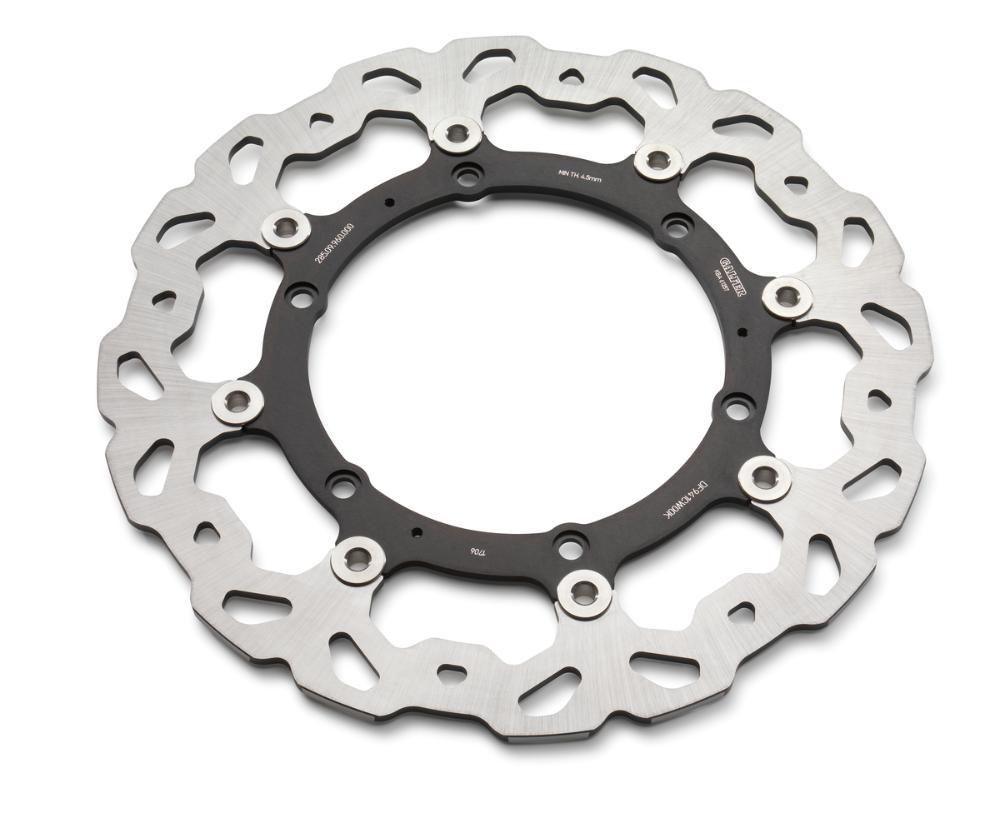 Wave brake disc