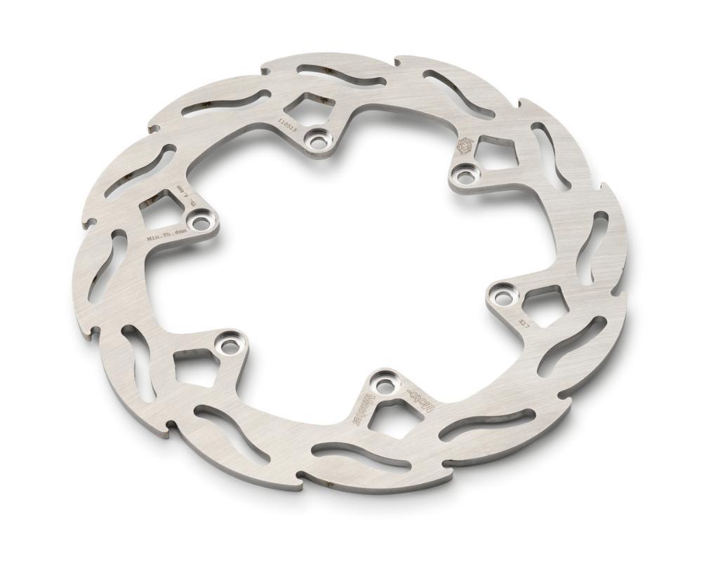 Flame brake disc