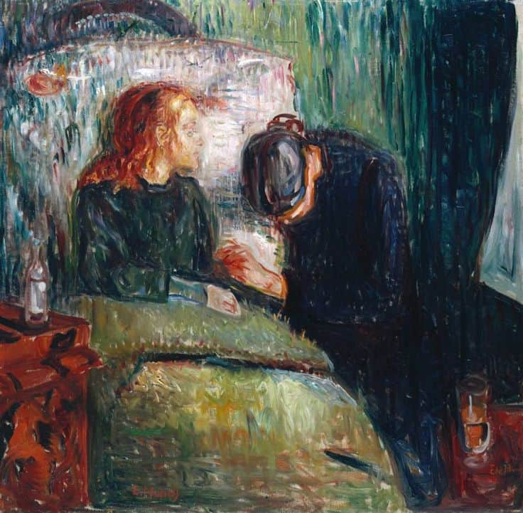 Edvard Munch - The Sick Child (1907)