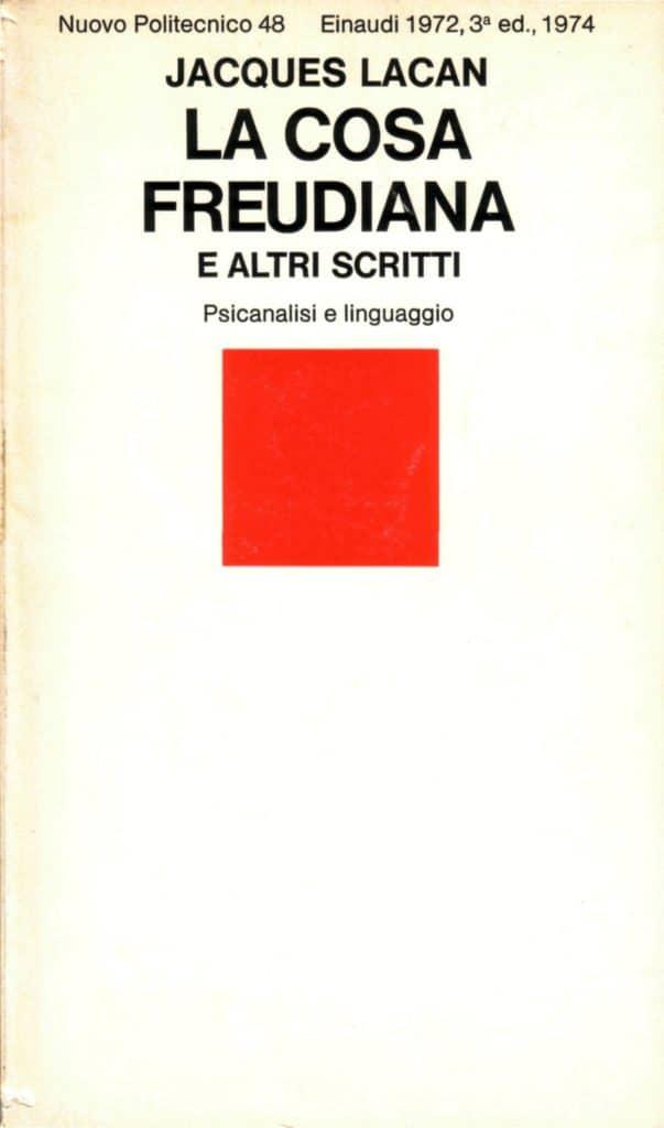 Copertina di 'La cosa freudiana e altri scritti'
