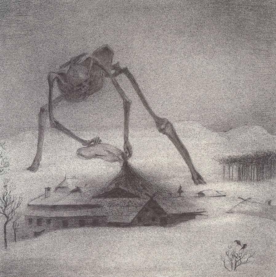 Alfred Kubin - Epidemia (1901)