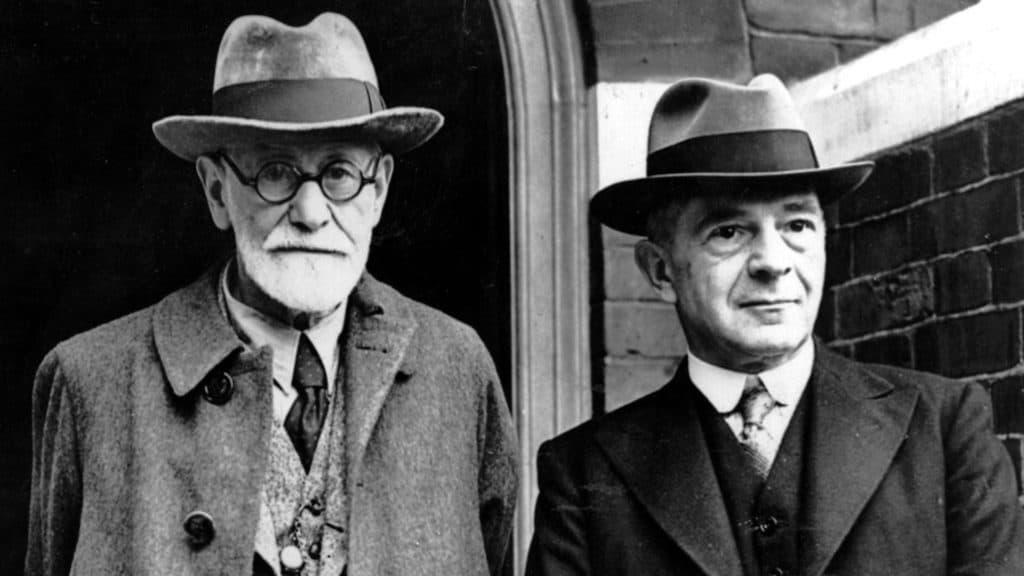Sigmund Freud ed Ernest Jones