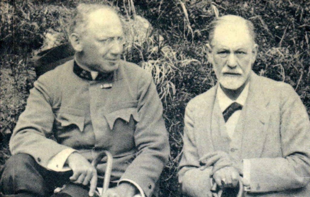 Sándor Ferenczi e Sigmund Freud