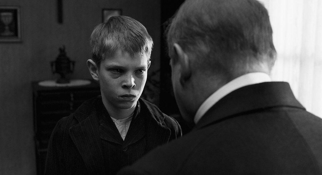 Un frame dal film 'Il nastro bianco'