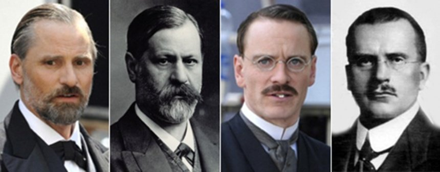 Il doppio doppio: Mortensen-Freud Fassbender-Jung