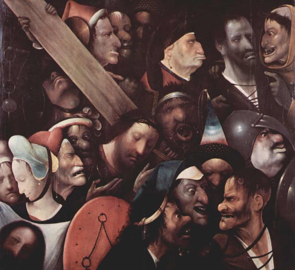 Hieronymus Bosch - Cristo portacroce (1503-1516)