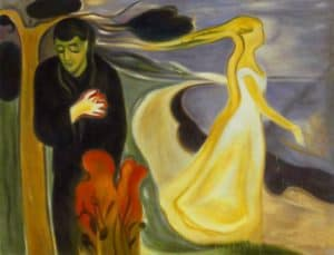 Edvard Munch - Separation (1896)