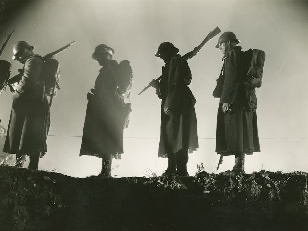 Frame from A Farewell to Arms (1932)