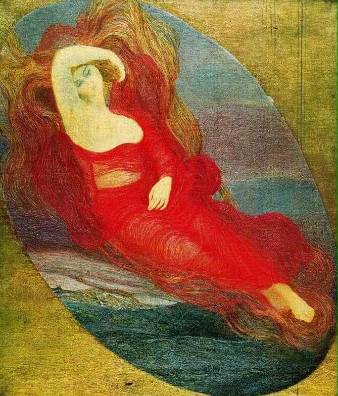 Giovanni Segantini, Dea dell'Amore (1894)