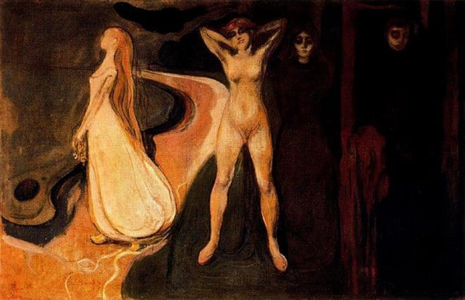 Edvard Munch - Woman in three stages (1895)