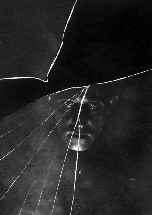 Stanislaw Ignacy Witkiewicz, Self-Portrait in a Broken Mirror (1914)