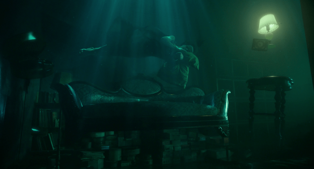 """Frame from """"The shape of water"""" (2017)"""