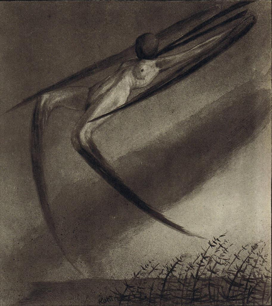 Alfred Kubin, Jede Nacht besucht uns ein Traum (1900)