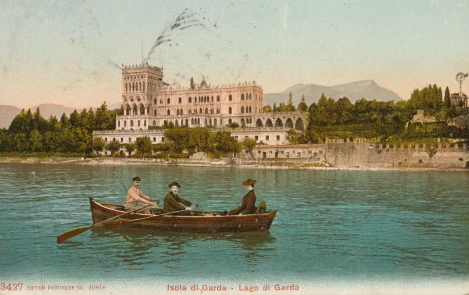 Cartolina di Freud da Isola di Garda