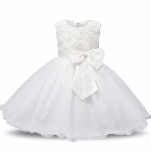 שמלת שושבינה - לבן
