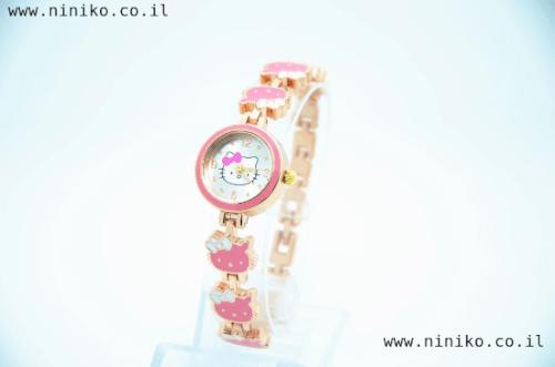 חדש! שעון קיטי לילדות ונערות! HELLO KITTY