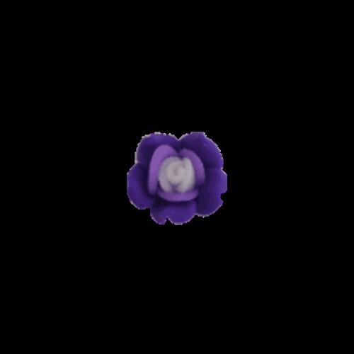 טבעת פרח לילדות בצבע סגול