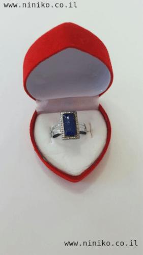 טבעת מצב רוח מלבן