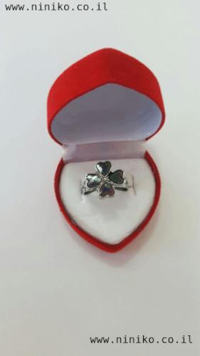 טבעת מצב רוח פרח