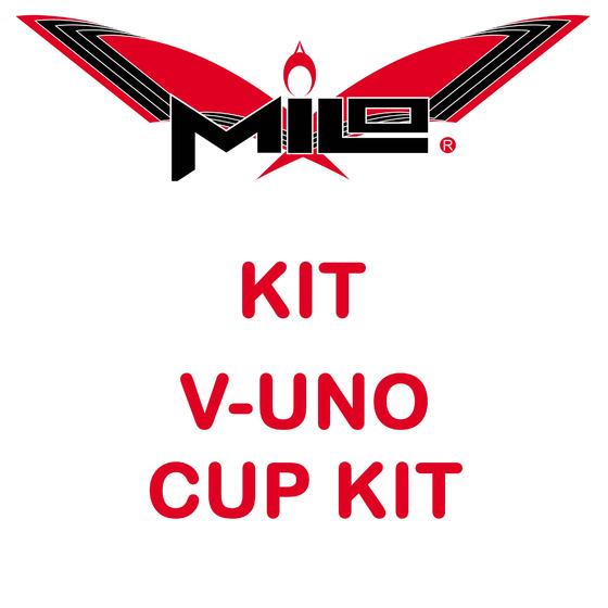 Milo Cup Kit V-uno 3pz Super Stiff