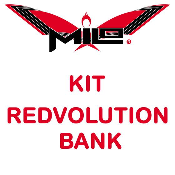 Milo Redvolution Bank Kit Strippa 2pz