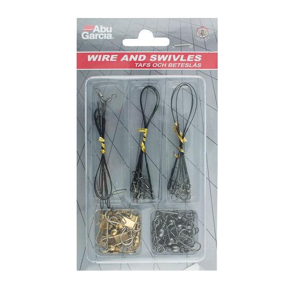 Abu Garcia Assorted Wire Snap Swivels