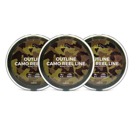 Avid Carp Outline Camo Reel Line