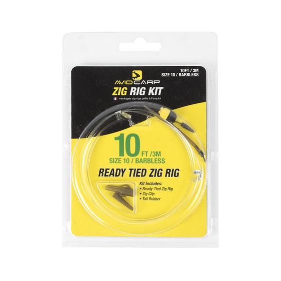 Avid Carp Zig Rig Kit 10