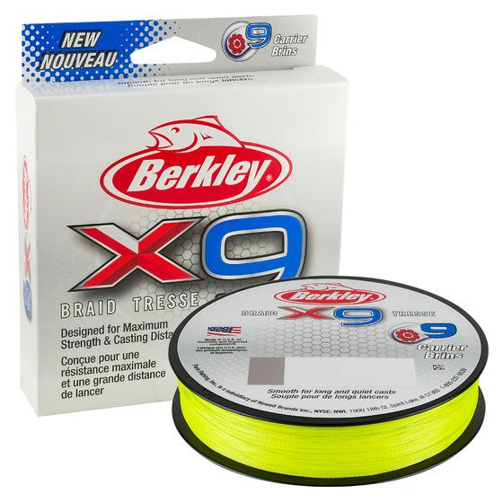 Berkley X9 Braid Flame Green 150 M