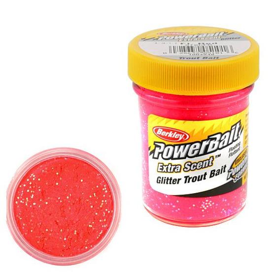Berkley Pasta Trota Brillantinata PowerBait Fluo Red