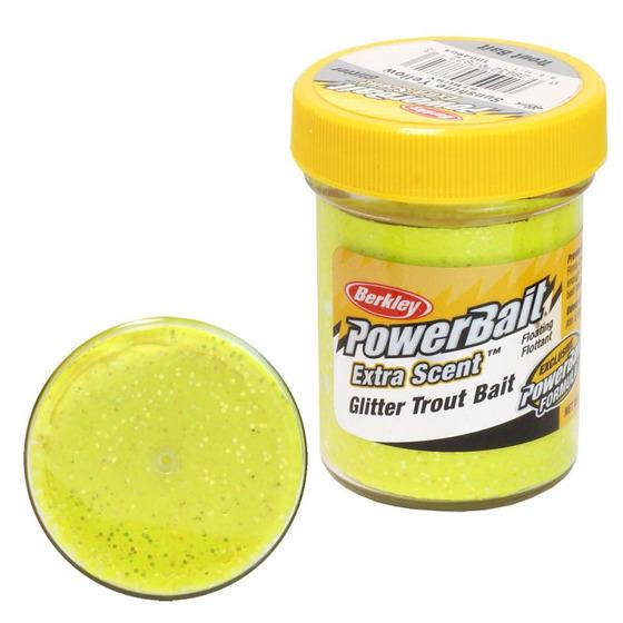 Berkley Pasta Trota Brillantinata PowerBait Sunshine Yellow