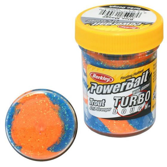 Berkley Pasta Trota Brillantinata PowerBait Turbo Dough Blue mango