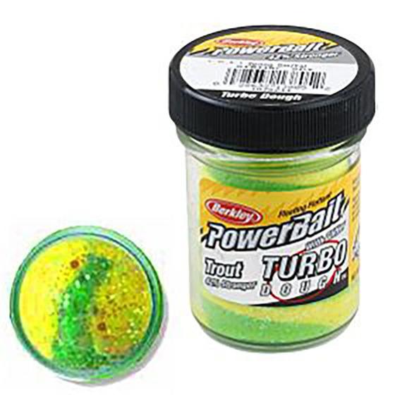 Berkley Pasta Trota Brillantinata PowerBait Turbo Dough Spring Green-Yellow