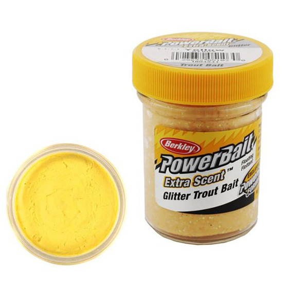 Berkley Pasta Trota Brillantinata PowerBait Yellow