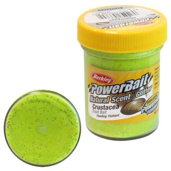 Berkley Pasta Trota PowerBait Natural Scent Crustacea Chartreuse
