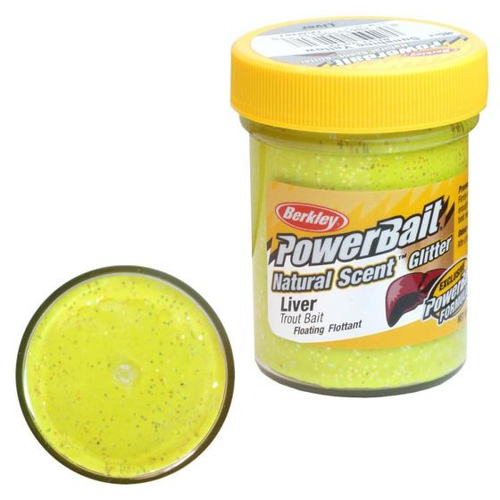 Berkley Pasta Trota PowerBait Natural Scent Liver Sunshine yellow