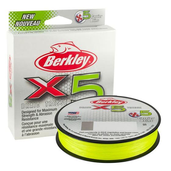 Berkley X5 Braid Flame Green