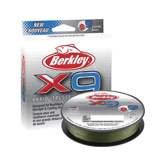 Berkley X5 Braid Low-Vis Green