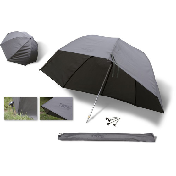 Black Cat Extreme Oval Umbrella