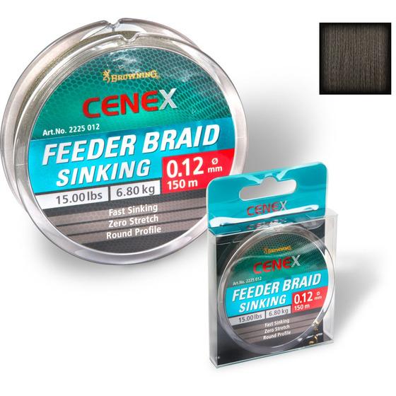 Browning Cenex Feeder Braid, Sinking
