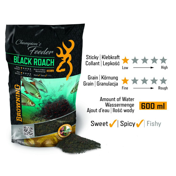 Browning Champions Feeder Mix Black Roach