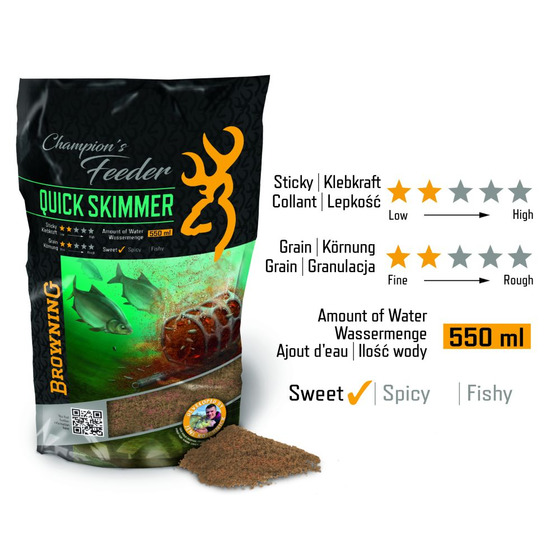 Browning Champions Feeder Mix Quick Skimmer